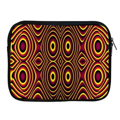 Vibrant Pattern Apple iPad 2/3/4 Zipper Cases