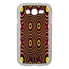 Vibrant Pattern Samsung Galaxy Grand DUOS I9082 Case (White)