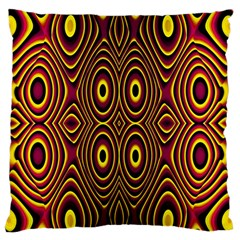 Vibrant Pattern Standard Flano Cushion Case (one Side)