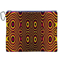 Vibrant Pattern Canvas Cosmetic Bag (XXXL)