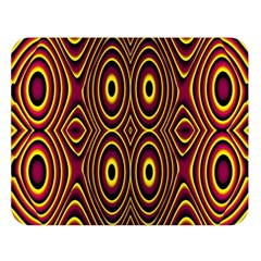 Vibrant Pattern Double Sided Flano Blanket (Large)
