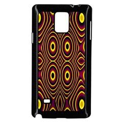 Vibrant Pattern Samsung Galaxy Note 4 Case (black)