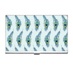 Background Of Beautiful Peacock Feathers Wallpaper For Scrapbooking Business Card Holders