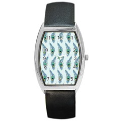 Background Of Beautiful Peacock Feathers Wallpaper For Scrapbooking Barrel Style Metal Watch