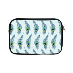 Background Of Beautiful Peacock Feathers Wallpaper For Scrapbooking Apple Ipad Mini Zipper Cases