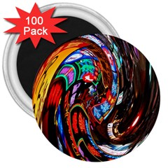 Abstract Chinese Inspired Background 3  Magnets (100 pack)
