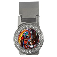 Abstract Chinese Inspired Background Money Clips (cz)
