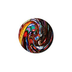 Abstract Chinese Inspired Background Golf Ball Marker (10 Pack)