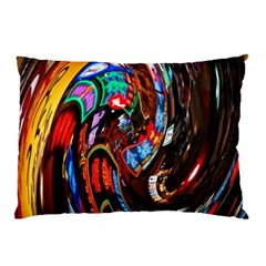 Abstract Chinese Inspired Background Pillow Case (Two Sides)