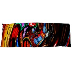 Abstract Chinese Inspired Background Body Pillow Case Dakimakura (Two Sides)