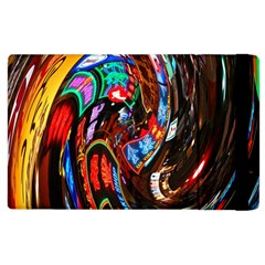 Abstract Chinese Inspired Background Apple iPad 2 Flip Case