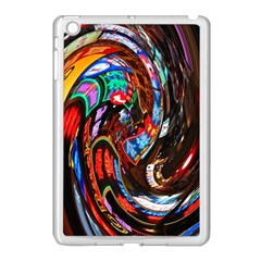 Abstract Chinese Inspired Background Apple iPad Mini Case (White)