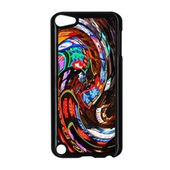 Abstract Chinese Inspired Background Apple iPod Touch 5 Case (Black)