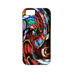 Abstract Chinese Inspired Background Apple iPhone 5 Classic Hardshell Case (PC+Silicone)