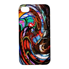 Abstract Chinese Inspired Background Apple iPhone 4/4S Hardshell Case with Stand
