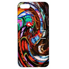 Abstract Chinese Inspired Background Apple iPhone 5 Hardshell Case with Stand