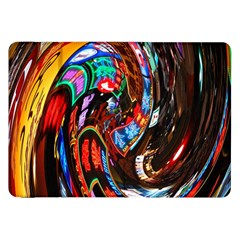 Abstract Chinese Inspired Background Samsung Galaxy Tab 8 9  P7300 Flip Case