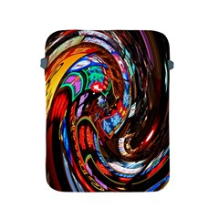 Abstract Chinese Inspired Background Apple iPad 2/3/4 Protective Soft Cases