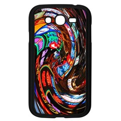 Abstract Chinese Inspired Background Samsung Galaxy Grand DUOS I9082 Case (Black)