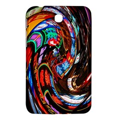 Abstract Chinese Inspired Background Samsung Galaxy Tab 3 (7 ) P3200 Hardshell Case