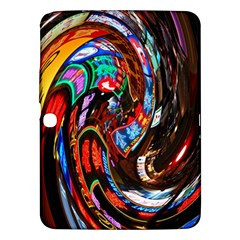 Abstract Chinese Inspired Background Samsung Galaxy Tab 3 (10.1 ) P5200 Hardshell Case