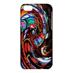 Abstract Chinese Inspired Background Apple iPhone 5C Hardshell Case