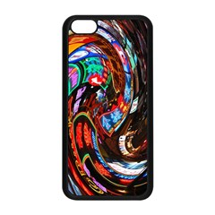 Abstract Chinese Inspired Background Apple iPhone 5C Seamless Case (Black)