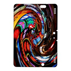 Abstract Chinese Inspired Background Kindle Fire HDX 8.9  Hardshell Case