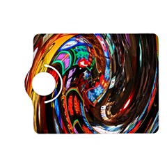 Abstract Chinese Inspired Background Kindle Fire HD (2013) Flip 360 Case