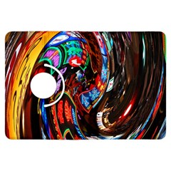 Abstract Chinese Inspired Background Kindle Fire HDX Flip 360 Case