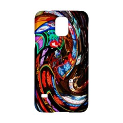 Abstract Chinese Inspired Background Samsung Galaxy S5 Hardshell Case