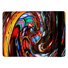 Abstract Chinese Inspired Background Samsung Galaxy Tab Pro 12 2  Flip Case