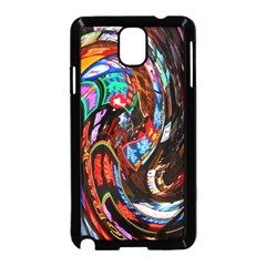 Abstract Chinese Inspired Background Samsung Galaxy Note 3 Neo Hardshell Case (Black)