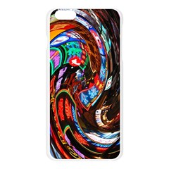 Abstract Chinese Inspired Background Apple Seamless iPhone 6 Plus/6S Plus Case (Transparent)