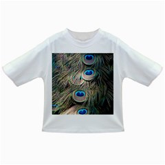Colorful Peacock Feathers Background Infant/Toddler T-Shirts