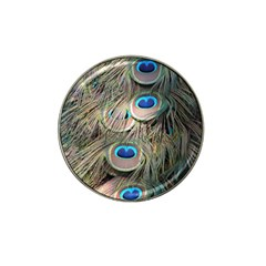 Colorful Peacock Feathers Background Hat Clip Ball Marker (4 pack)