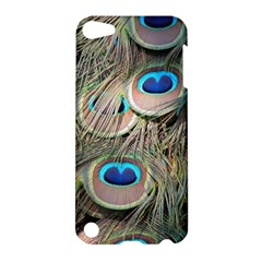 Colorful Peacock Feathers Background Apple iPod Touch 5 Hardshell Case