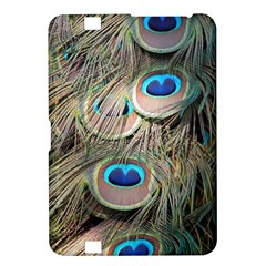 Colorful Peacock Feathers Background Kindle Fire HD 8.9
