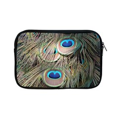 Colorful Peacock Feathers Background Apple Ipad Mini Zipper Cases