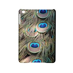 Colorful Peacock Feathers Background iPad Mini 2 Hardshell Cases