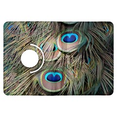 Colorful Peacock Feathers Background Kindle Fire HDX Flip 360 Case