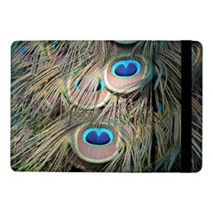 Colorful Peacock Feathers Background Samsung Galaxy Tab Pro 10.1  Flip Case