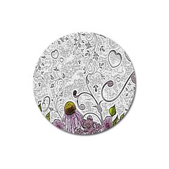 Abstract Pattern Magnet 3  (Round)