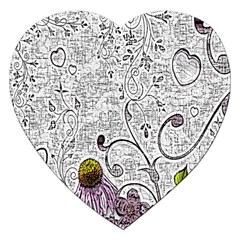 Abstract Pattern Jigsaw Puzzle (heart)