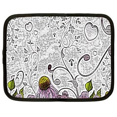 Abstract Pattern Netbook Case (xxl)