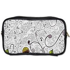Abstract Pattern Toiletries Bags 2 Side
