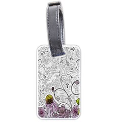 Abstract Pattern Luggage Tags (one Side)