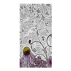 Abstract Pattern Shower Curtain 36  X 72  (stall)