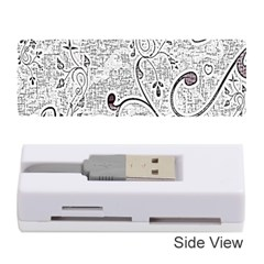 Abstract Pattern Memory Card Reader (Stick)