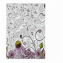 Abstract Pattern Large Garden Flag (Two Sides)